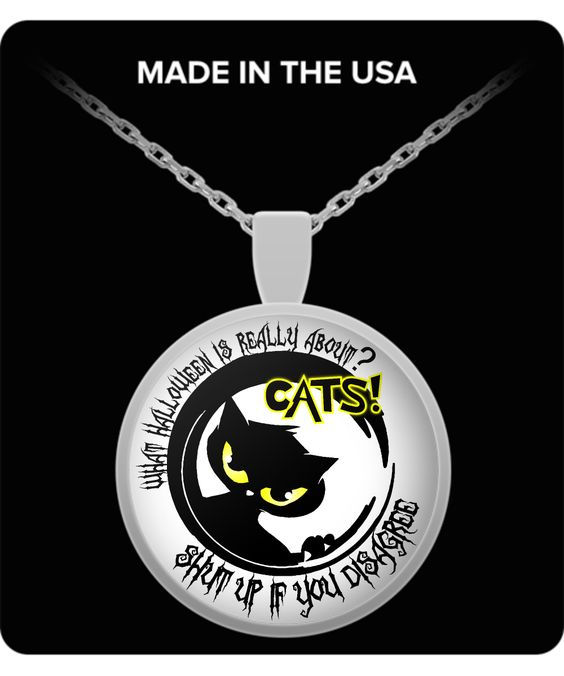 What Halloween Is Really About? - Silver Plated Necklace and Pendant