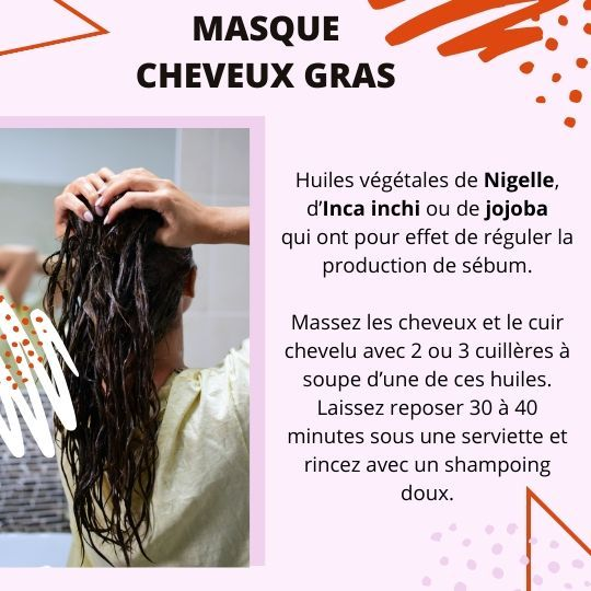 Huiles Essentielle Pour Les Cheveux Gras Huiles Essentielles Aromatherapie Soin Cheveux Gras Masque Pour Cheveux Gras Cheveux Gras