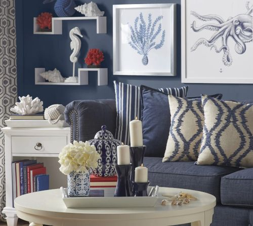 Living Room Decor Inspiration From Wayfairs Coastal Designer Rooms Shop The Look Living Room Decor Inspiration Decor Living Room Designs
