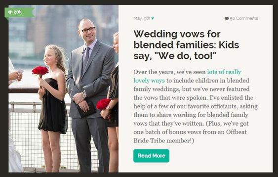 Blended Family Wedding Invitations: Step Children, Wedding Ceremonies And Vows On Pinterest