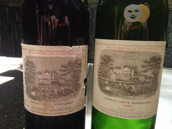 Had the privilege to enjoy these rare Lafites during a friend's birthday dinner. Thankful