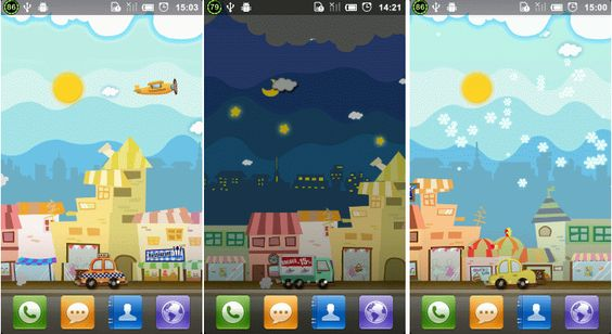 Enjoy fun of little interactions and discoveries all from home screen of your phone!