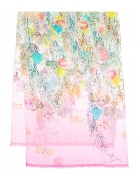 Wispy meadow print scarf - MOLASH - Ted Baker