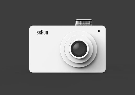 Camera : Hommage for BRAUN in 1975 - Kim Seongjin : Industrial designer