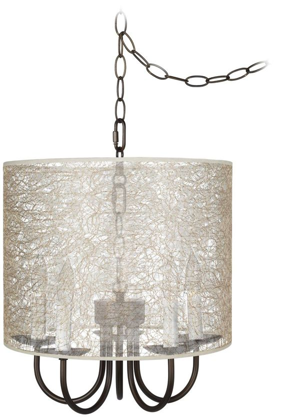 Wynwood 14 Wide Swag Chandelier with Transparent Shade -