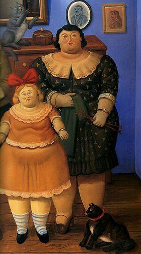 Fernando Botero (Colômbia):
