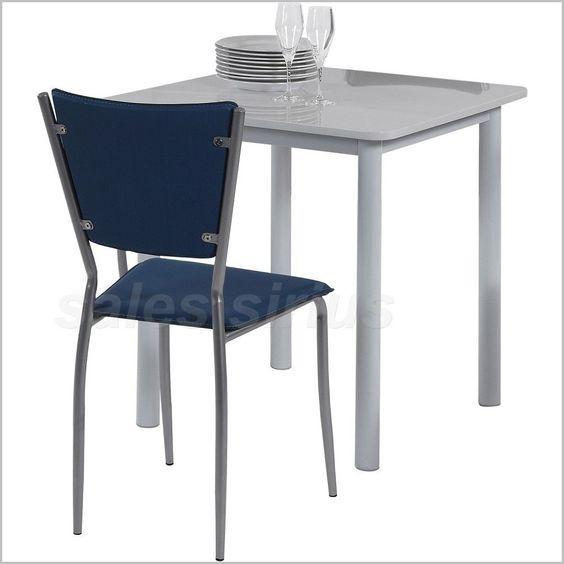 Ess Tisch Holz Weiß Klein Küchen Küche Zimmer Balkon Garten Terrasse
