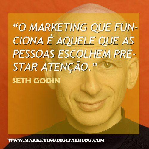 Seth Godin fundou e foi CEO de uma das primeiras companhias de marketing online, a Yoyodyne, que mais tarde vendeu ao Yahoo!