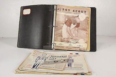 BSA Vintage Lot Paper Goods Ephemera Troop #175 Charters 1948-59 KCMO Pamplets