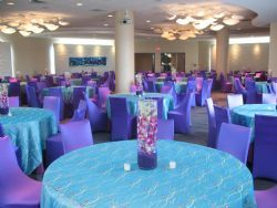 Newport Aquarium With Linen Upgrade Finding Nemo Inspired Wedding Theme Pinterest Vow Renewals And Vows