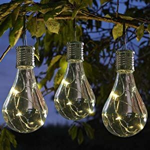 Guirlande Lumineuse Solaire Lampes Cordes Oyedens 1 Pc Solaire Lumiere Multicolore Decoration Fetes De Famille 5 Led Jardin Impermeable Light Bulb Solar Led
