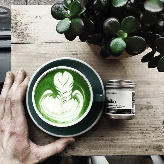 We simply cannot get enough of this beautiful cup of #Matcha Latte Art  carefully orchestrated by the talented Ben Lewis @barista_benji using our Meiko™ Matcha . . 「Finally got some matcha from @Matchaeologist ...definitely some of the best I've had! 」 . Follow @barista_benji  for more tips on how to create these wonderful green elixir masterpieces! . #Matchaeologist #MatchaRitual #FreePouring . Matchæologist® Matchaeologist.com