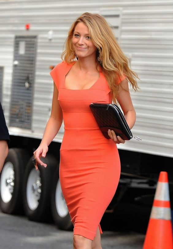 Blake Livelys coral dress! <3