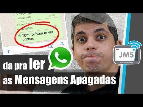 Sabia Que Tem Como Recuperar Mensagens Apagadas Do Whatsapp