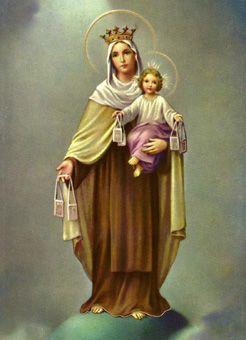 Virgen del Carmen Oración