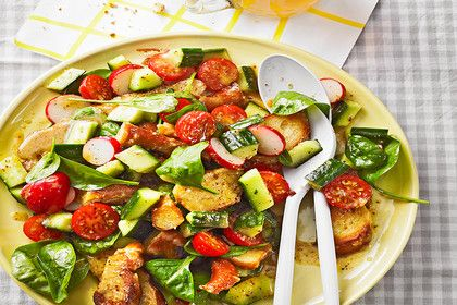 Brezensalat, ein schmackhaftes Rezept aus der Kategorie Snacks und kleine Gerichte. Bewertungen: 34. Durchschnitt: Ø 4,6.