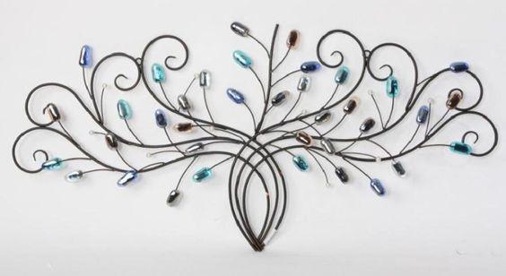 Metals on pinterest for Decoracion de paredes con cuadros