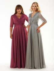 Dinah Totally Modest WEDDING dresses, PROM & Bridesmaid dresses w/ sleeves