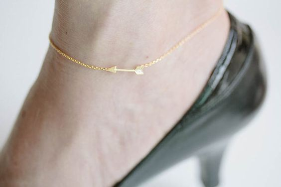arrow anklets anklets for womengold ankletanklet by LETTERSEARRING, $11.80