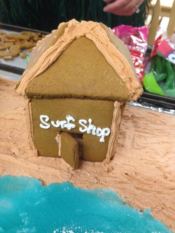 Gingerbread Beach Scene-Upper Elementary Practical Life Activity for Multi-Cultural Festival (made to scale)