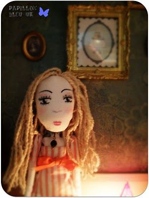 It was Vanessa 's birthday and the dolls thought it would be nice if she could have a little party in the parTEA room. But to have access to this very special place, you have to be ... a doll.    So, with a bit of magic, fairy dust and many other ingredients which cannot be revealed here, we turned Vanessa into...
