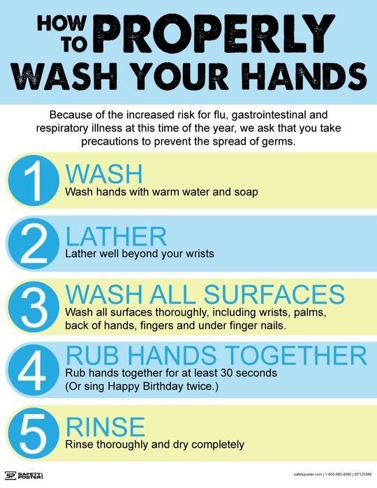 How To Properly Wash Your Hands Safety Posters Safety Message