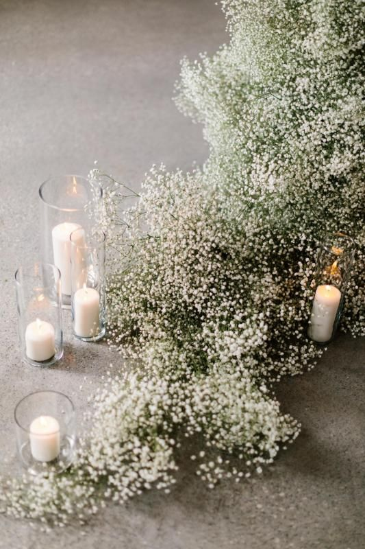Baby's Breath Wedding Decoration