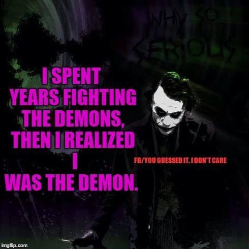 Joker Love Quotes : ... by Kathy Walter on JOKER Pinterest The joker, DC Comics and Jokers