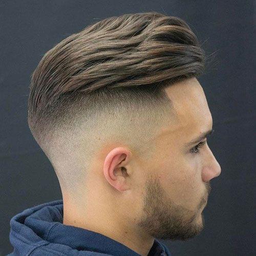 21 Best Pompadour Fade Haircuts High Fade Haircut Faded Hair