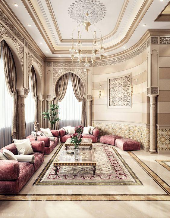 Magic Of Orient Moroccan Decor Living Room Arabian Living Room Luxury Living Room Arabic living room decorating ideas