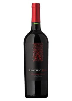 Apothic Red: Red Wine from California with black cherry base tone with tastes of mocha and vanilla. A full bodied wine with a smooth finish.: