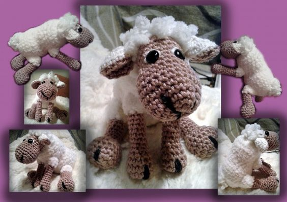 Amigurumi häkeln | Schaf - Wölkchen