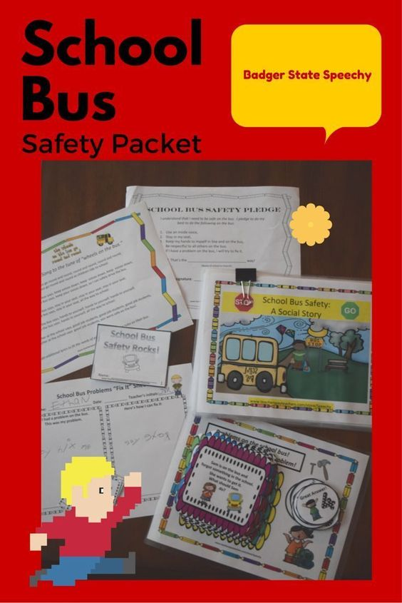 "Teaching story, game, activities and ""Fix it"" sheet for students engaging in unsafe behaviors on the school bus!  Includes activities for small groups working on problem-solving issues on the school bus."