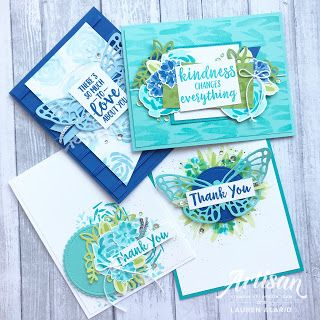 Abstract Impressions - Stampin' Up! Artisan Blog Hop