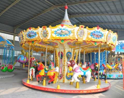 16 Seat Carousel Ride For Sale From Beston Carousel Riding