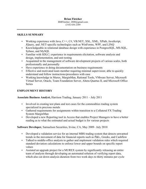 Sales And Trading Resume Sample Before Wall Street Oasis In 2020 Resume Template Resume Design Template Resume