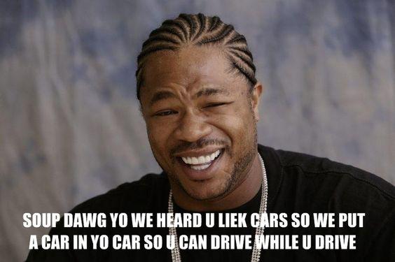 I heard you like cars