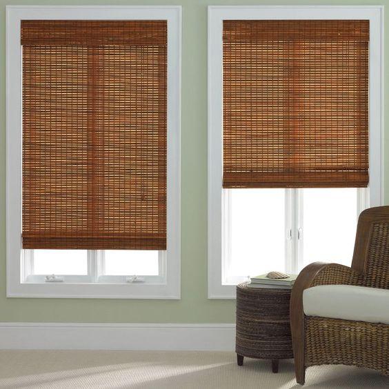 Jcp Home™ Bamboo Woven Wood Roman Shade