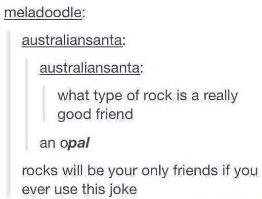 Rocky Friends Dad Jokes Great Jokes Funny Puns