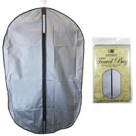10 Garment Storage Bag 40 Grey Plastic