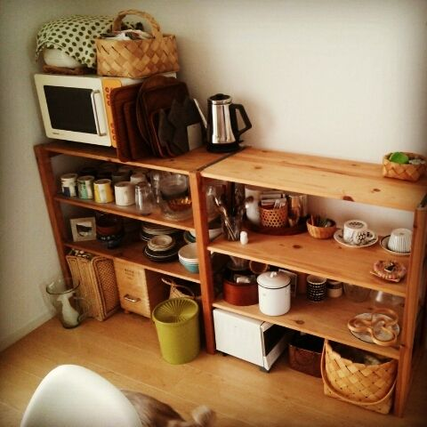 最近の食器棚の画像 |  まいにち、なないろ。