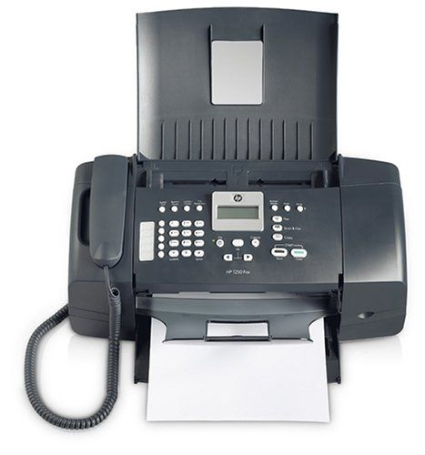 HP FAX 1250 Fax Machine (Black):