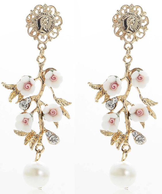 Cheap earrings for top of ear, Buy Quality earrings lips directly from China earrings company Suppliers: Hot Elegance  Women Fashion Blue Crystal  Earrings Style New arrival  with gems Drop/Dangle crystal earring for women gi