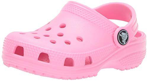 Crocs Kids' Classic Clog, Pink Lemonade