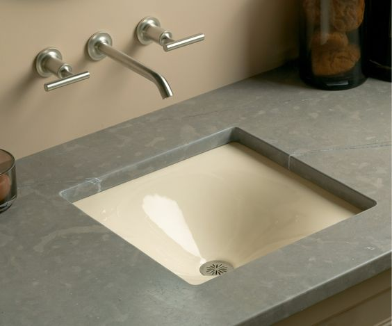Bold Ideas from Kohler - Iron/Tones sink
