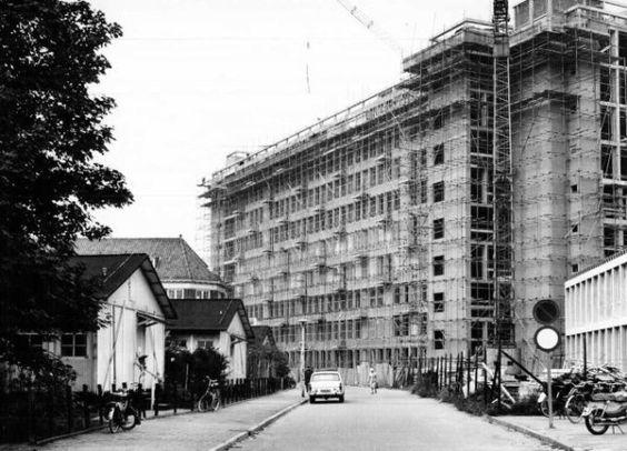 Datering (vanaf): 1967-01-01 Datering tot: 1967-12-31 Beschrijving: De bouw van het beddenhuis van het nieuwe Gemeenteziekenhuis