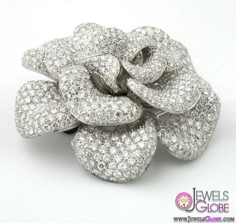 13 Stylish Diamond Brooches and Pins Designs For Women