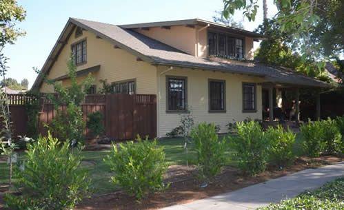 Doughert2front2 buckman exterior paint pinterest for Historic craftsman house colors