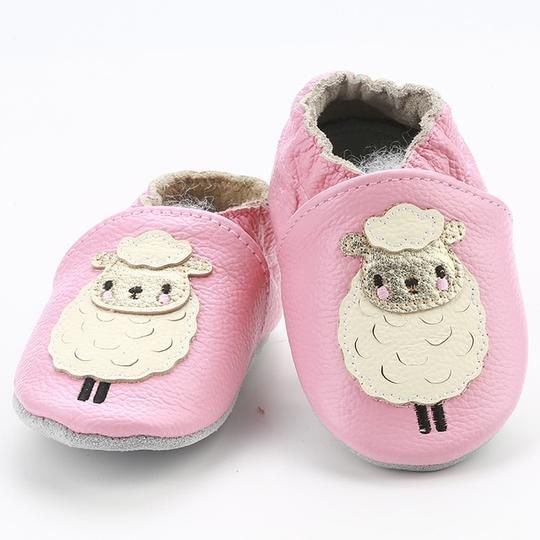 suede sole pram shoes nursery shoe soft peather baby shoes