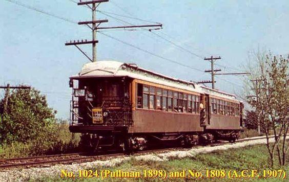 Pullman 1898 Vintage Elevated Rail Car